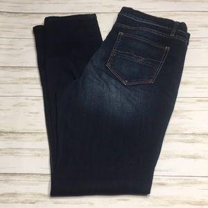 Size 12 NY&Co SOHO Stretch Skinny Jeans